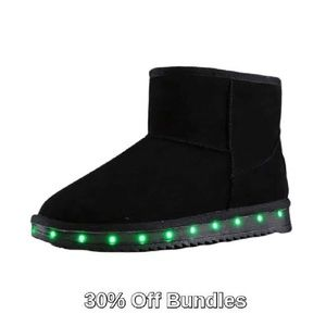 Other - 3/$30 - Light Up Boots, Black